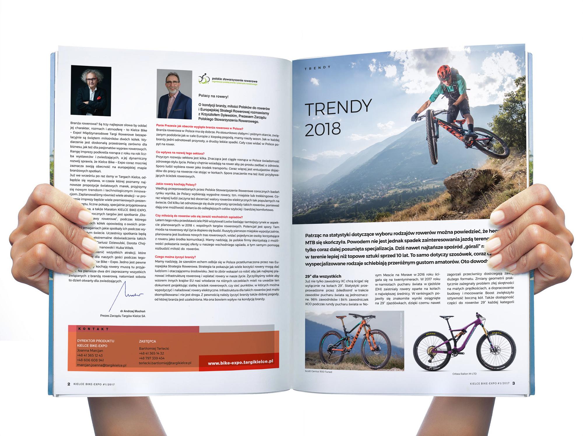 Magazyn targów Kielce Bike-Expo-2